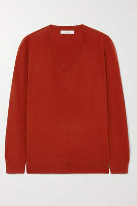 Vince Weekend Cashmere Sweater - Red
