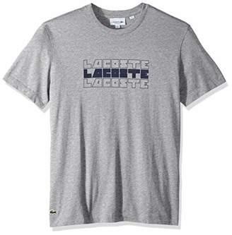 Lacoste Men's Short Sleeve REG FIT Wordplay TEE
