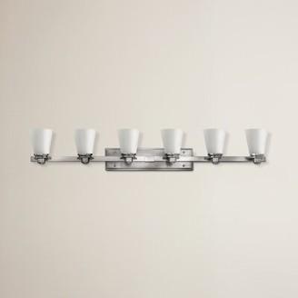 Avon Hinkley Lighting 6-Light Vanity Light Hinkley Lighting Finish: Brushed Nickel