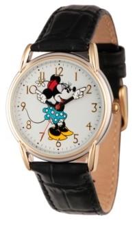 EWatchFactory Disney Minnie Mouse Women's Two Tone Cardiff Alloy Watch