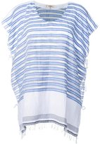 Lemlem tie-side tunic top - women - Cotton/Acrylic - One Size