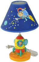 Fantasy Fields Outer Space Hand Painted Table Lamp