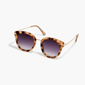 J.Crew Tortoise oversized sunglasses