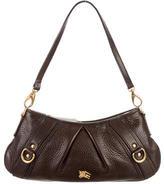 Burberry Pebbled Shoulder Bag