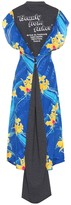 Vetements Silk and wool maxi dress