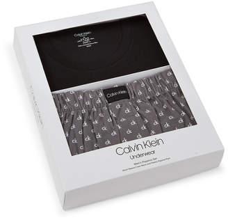 Calvin Klein Two-Piece Comfort Fleece Pajama Box Set