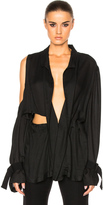 Ann Demeulemeester One Shoulder Blouse