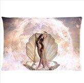 Botticelli Birth of Venus Pillow Case Hot Sale The Woman On The Shell Botticelli Birth of Venus Pillowcase,One Side Pillowcase Pillow Cover 20x30 inches