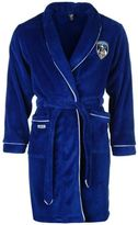 Team Mens Oldham Dressing Gown Warm Robe Towelling