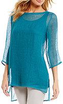 Eileen Fisher 3/4 Sleeve Tunic