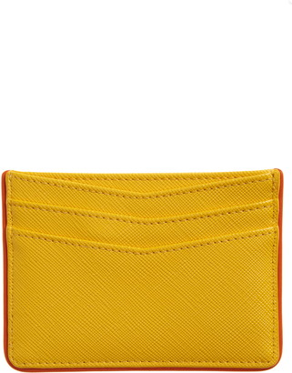 Nordstrom Rosa Faux Leather Card Holder