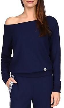 MICHAEL Michael Kors Thermal Knit Off Shoulder Top