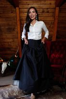 Shabby Apple Merry Ball Maxi Skirt with Tulle