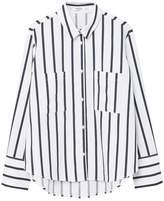 MANGO Stripe Patterned Shirt