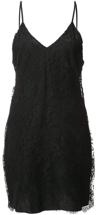 Amiri lace slip dress