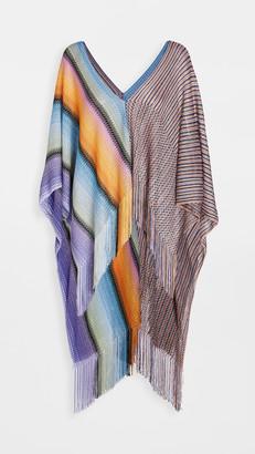 Missoni Stripes & Zigzag Poncho