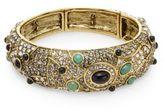 Heidi Daus A Twist On Tradition Swarovski Crystal Bracelet/Goldtone