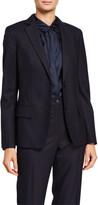 Agnona Flannel Single-Breasted Jacket