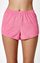 Juicy Couture x PacSun Graphic Shortie Shorts