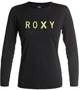 Roxy Juniors Palms Away Long Sleeve Rash Guard