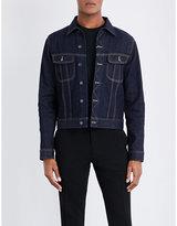Ralph Lauren Purple Label Stitch-detail Denim Jacket