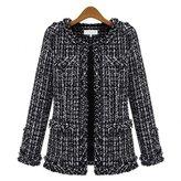 Dreamtao Autumn Winter Coats Women'S Stylish Casual Formal Wool Jacket Coats