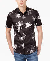 GUESS Men's Floral Stretch Shirt