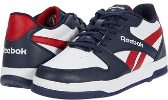 Heelys Reebok BB4500 Low (White/Vector Navy/White/Red) Boy's Shoes