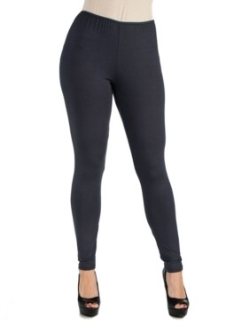 24Seven Comfort Apparel Women Stretch Ankle Length Leggings
