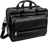McKlein McKleinUSA Elston 15.6 Leather Double Compartment Laptop Briefcase