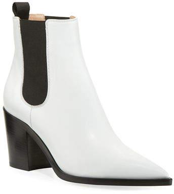 e7fd217ad Gianvito Rossi White Leather Women's Boots - ShopStyle