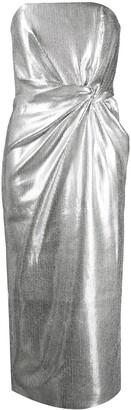 16Arlington Metallic Twist Fitted Dress