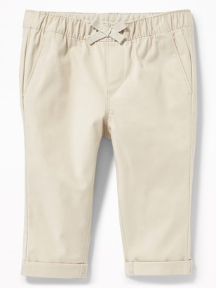 Old Navy Twill Pull-On Chinos for Baby