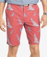 Izod Men's Sailboat Print 10.5and#034; Shorts