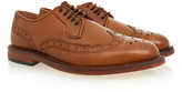 H By Hudson O'Connor Tan Lace Up Brogue
