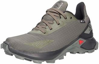 Salomon unisex child Alphacross Blast Cswp J Trail Running Shoe