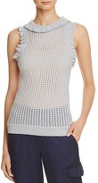BCBGMAXAZRIA Axel Ruffle Tank Top - 100% Exclusive