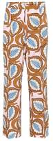 Marni Printed cotton trousers