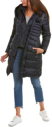 Tahari Casey Long Puffer Coat