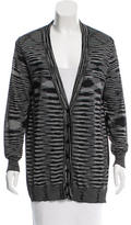M Missoni structured Striped Cardigan