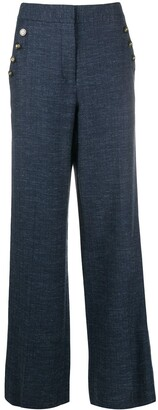 Veronica Beard Tuli wide-leg trousers
