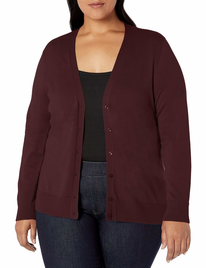 Thumbnail for your product : Amazon Essentials Women's Plus Size Lightweight Cardigan Sweater