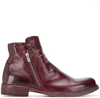 Officine Creative Side-Zip Ankle Boots