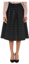 Altea Women's Black Polyester Skirt.