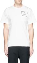 Public School 'Cooke' slogan print T-shirt