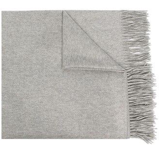 N.Peal Woven Cashmere Shawl