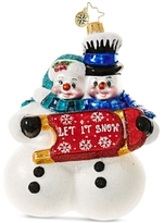 Christopher Radko Winterland Fun Mid-Year Collectible Ornament