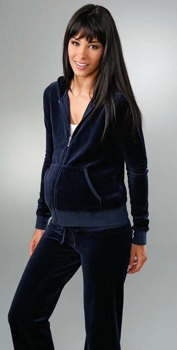 Juicy Couture Maternity Velour Hoodie