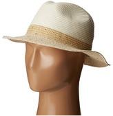 Calvin Klein Sequin Band Fedora Fedora Hats