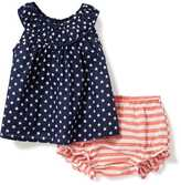 Old Navy 2-Piece Patterned Top and Bloomer Set for Baby